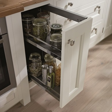 Pull out spice rack - 1909 kitchen range
