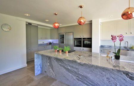 Bespoke Kitchen Design With Large Island - Danbury, Essex