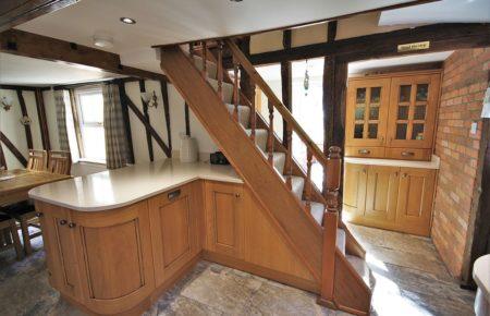 Croft Oak Kitchen Design With Glazed Dress - Witham Essex